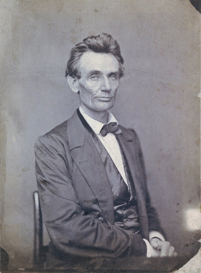 Lincoln without a beard