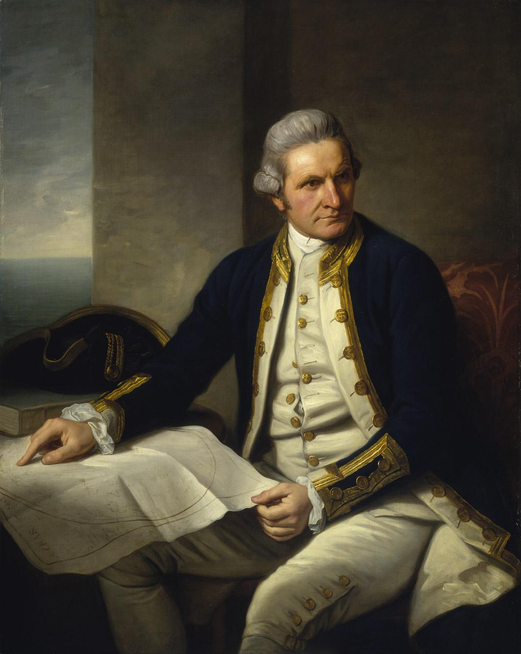 Captive Paradise; Captain Cook